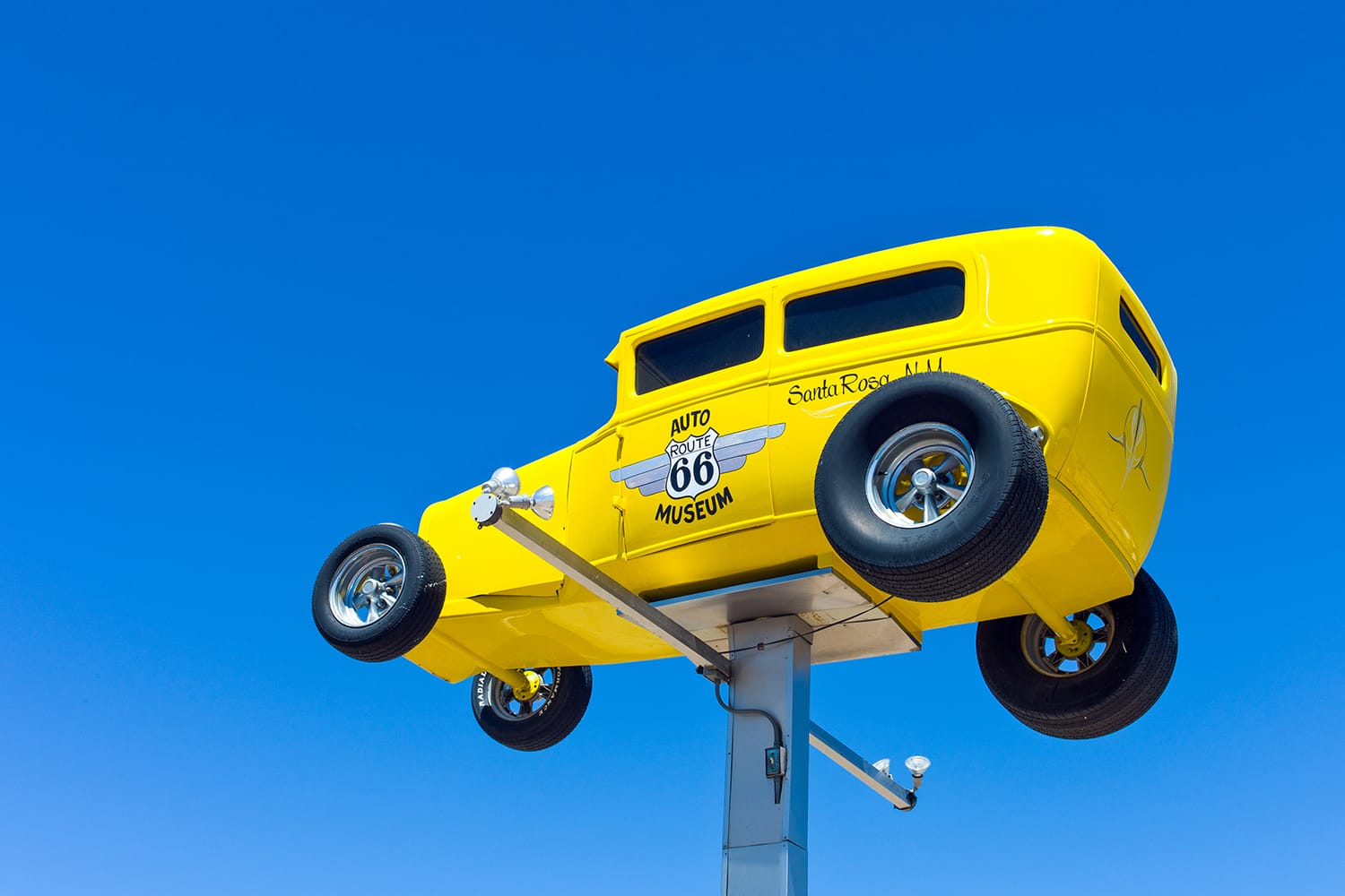New Mexico, the Auto Museum sign on the Route 66