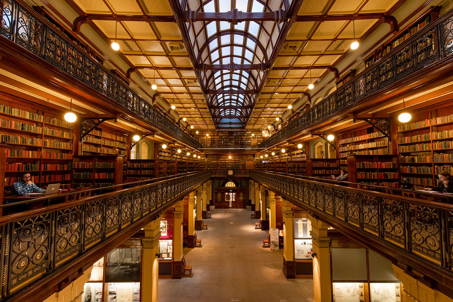 Mortlock Wing view at State Library of South Australia in Adelaide, Australia