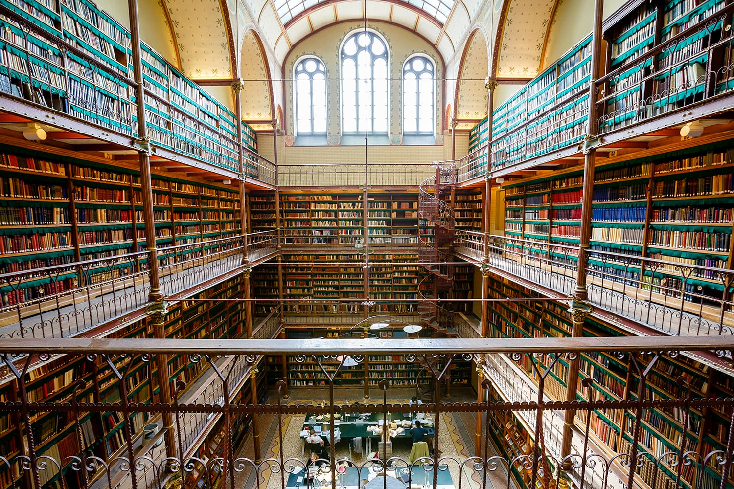 Rijksmuseum Research Library has the most extensive art history library in the Netherlands