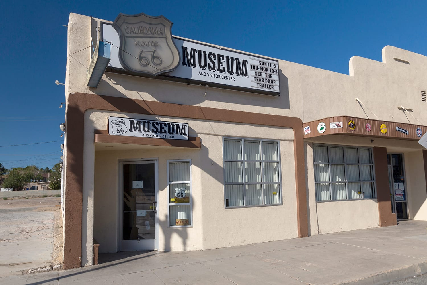 Route 66 Museum in Victorville, California, USA