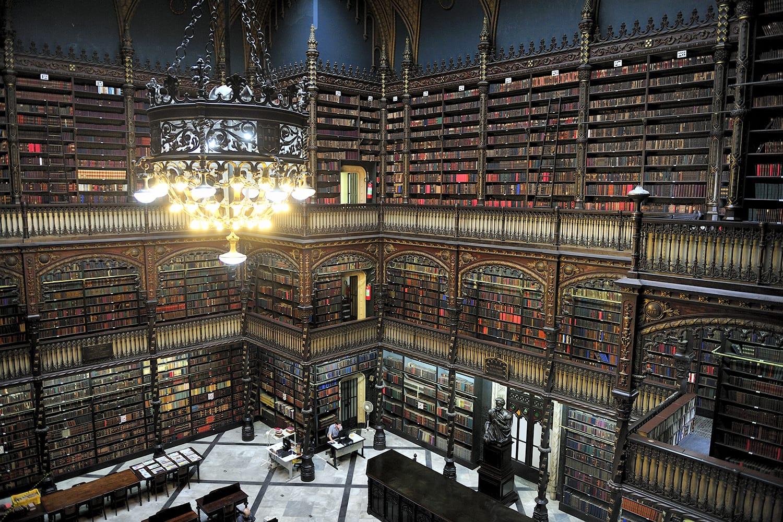 Royal Portuguese Reading Room in Rio de Janeiro, Brazil