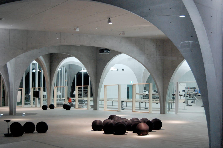 Tama Art University Library in Tokyo, Japan