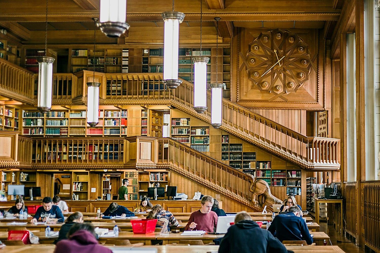 Library of the University in Leuven, Belgium