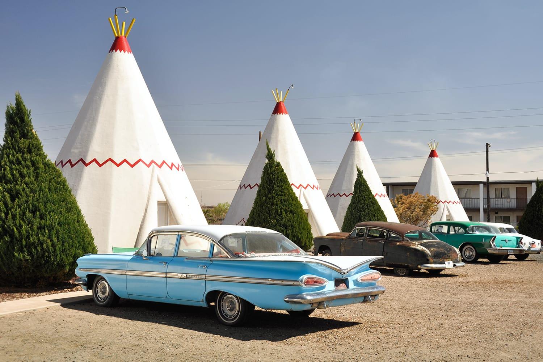 Wigwam Motel on Route 66 in Holbrook, Arizona