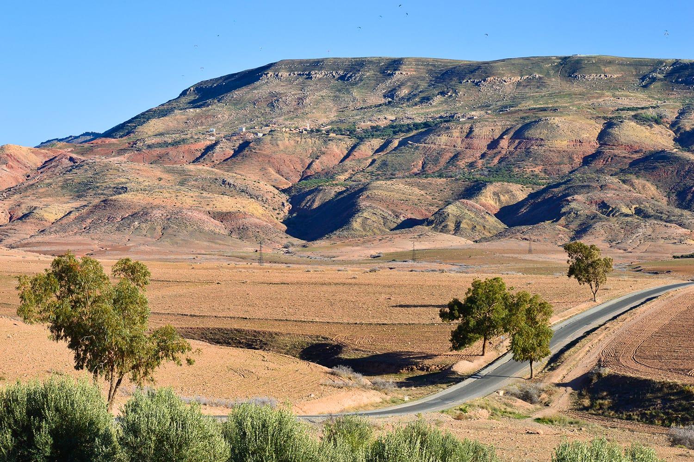 Agafay Desert in Morocco