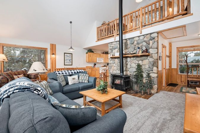 Beautiful Airbnb in McCall, Idaho, USA