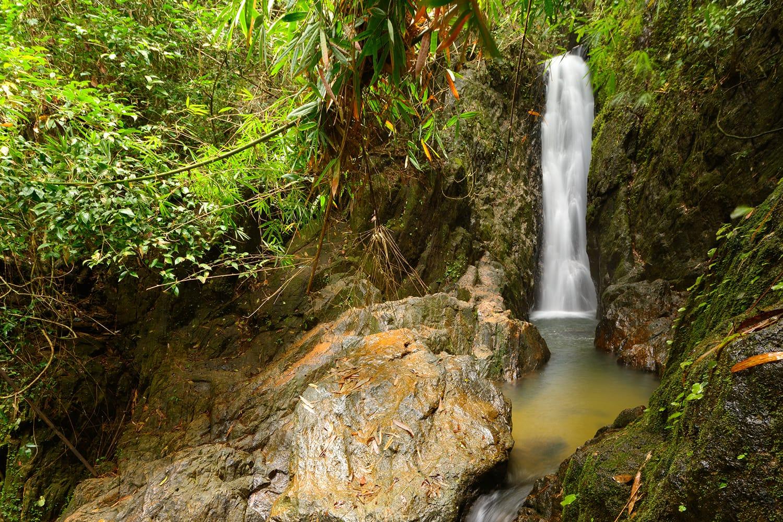 Bangpae waterfall in Thailand