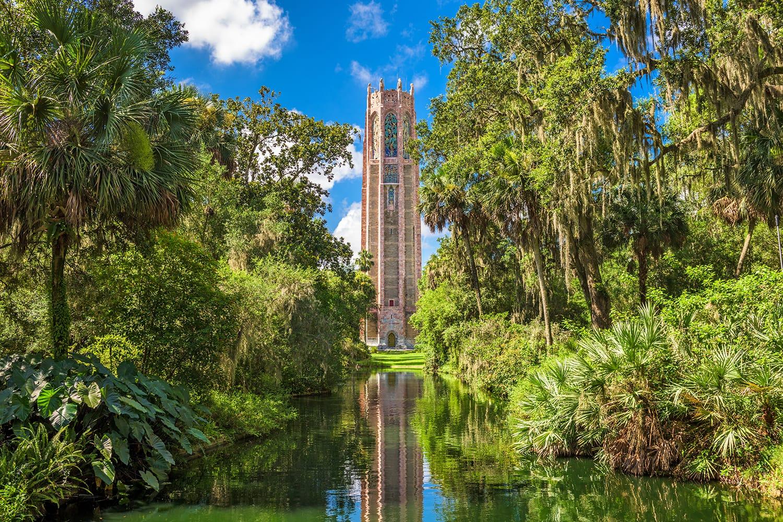 Bok Tower Gardens in Lake Wales, Florida, USA.