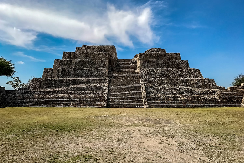 Archaeological site Cañada de la Virgen, Mexico