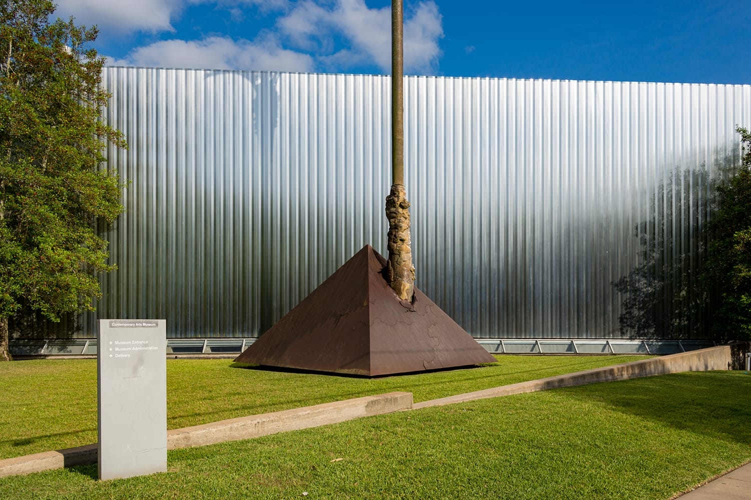 Contemporary Arts Museum in Houston, Texas, USA