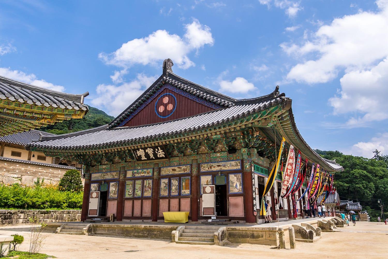 Haeinsa Temple in South Gyeongsang Province South Korea