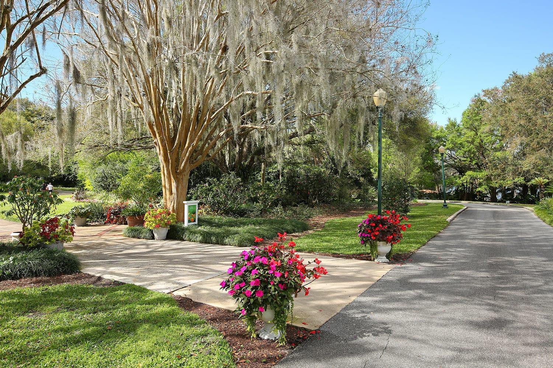 Harry P. Leu Gardens in Orlando, Florida, USA