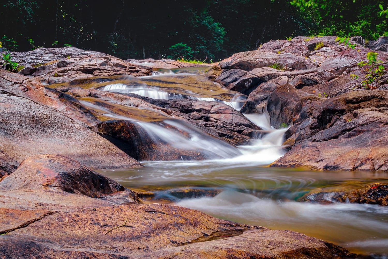 Hin lat Waterfall on Koh Samui, Thailand
