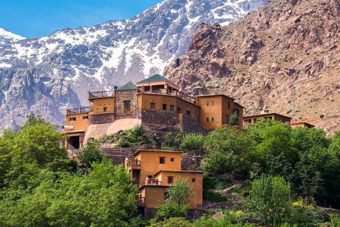 Kasbah du Toubkal, Imlil in the Atlas Mountains, Morocco