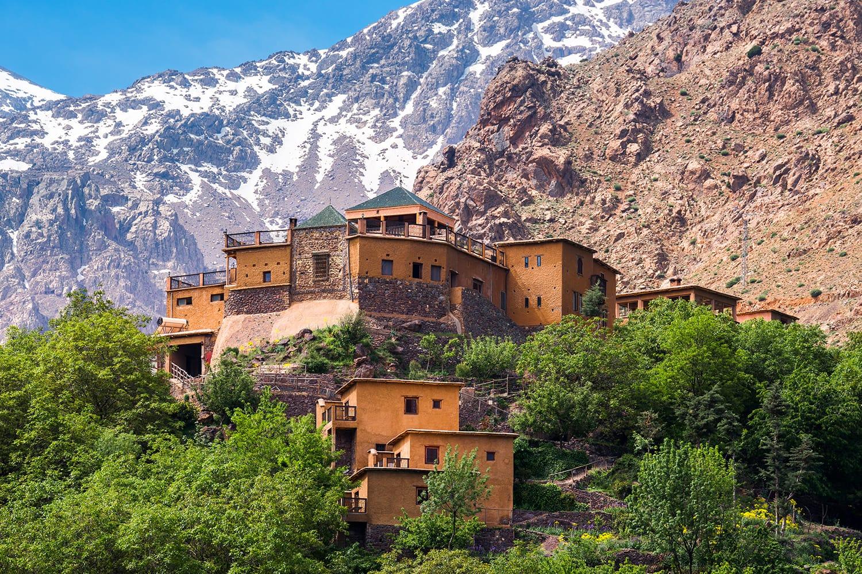 Kasbah du Toubkal, Imlil in the Atlas Mountains, Morocco