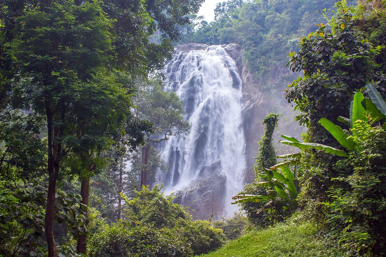 Khlong Lan Waterfall in Thailand