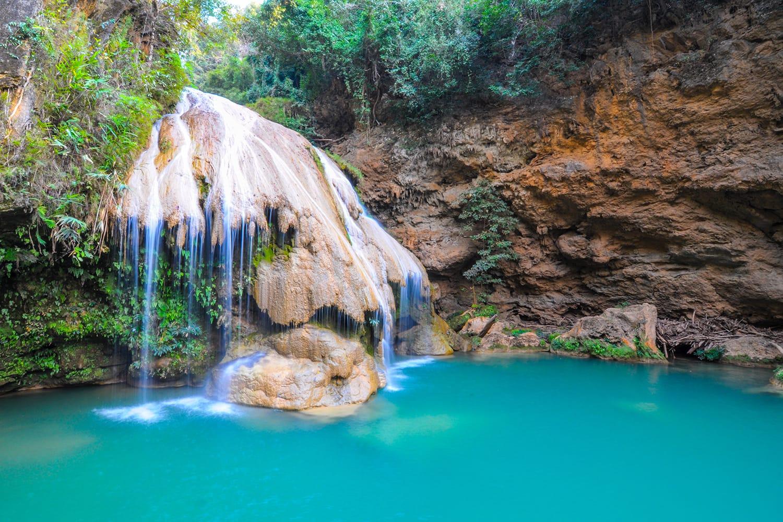 Koh Luang Waterfall, Lamphun, Thailand