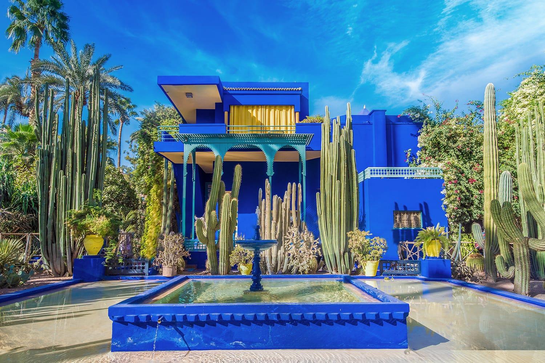 Le Jardin Majorelle, Marrakech, Morocco