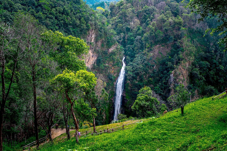 Mae Surin Waterfalls, Khun Yuam District, Mae Hong Son, Thailand