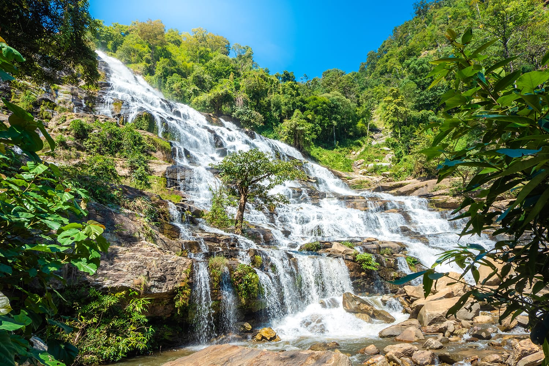 Mae Ya waterfall, Doi Inthanon national park Chiang Mai, Thailand