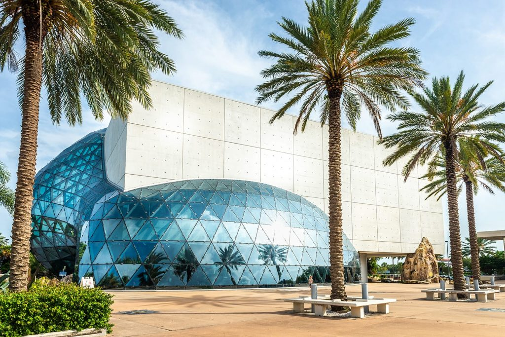 Salvador Dali museum in St Petersburg, Florida