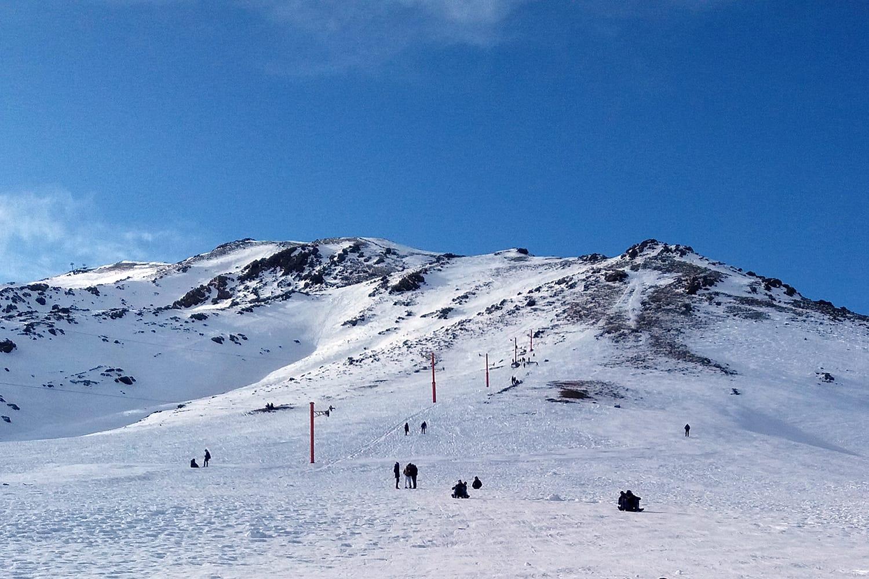 Snowy Mountains in Oukaimeden Morocco