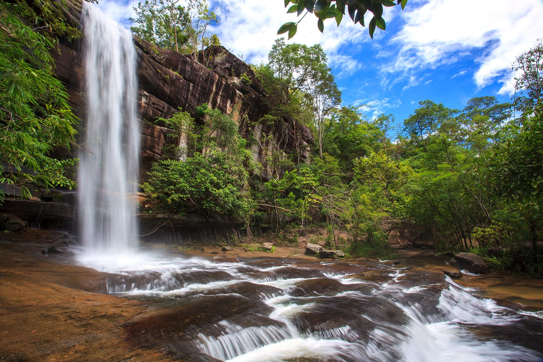 Soi Sawan Waterfall in Thailand