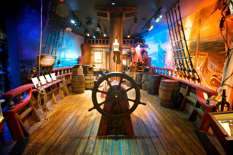 St. Augustine Pirate & Treasure Museum in Florida, USA