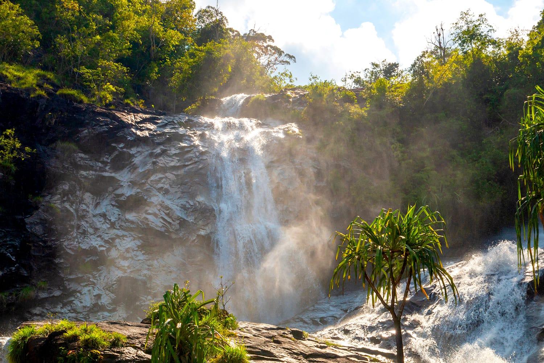 Ton Nga Chang Waterfall in Thailand