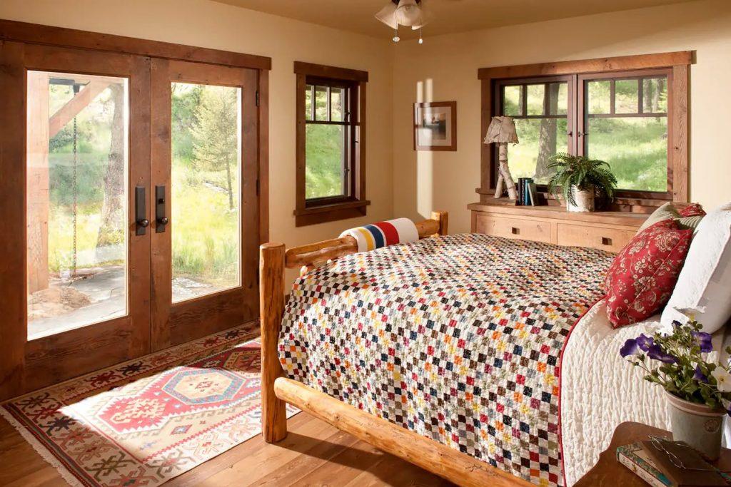 Beautiful Airbnb in Whitefish, Montana, USA