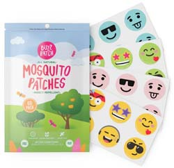 Buzzpatch Natural Chemical-Free Mosquito Repellent Patch