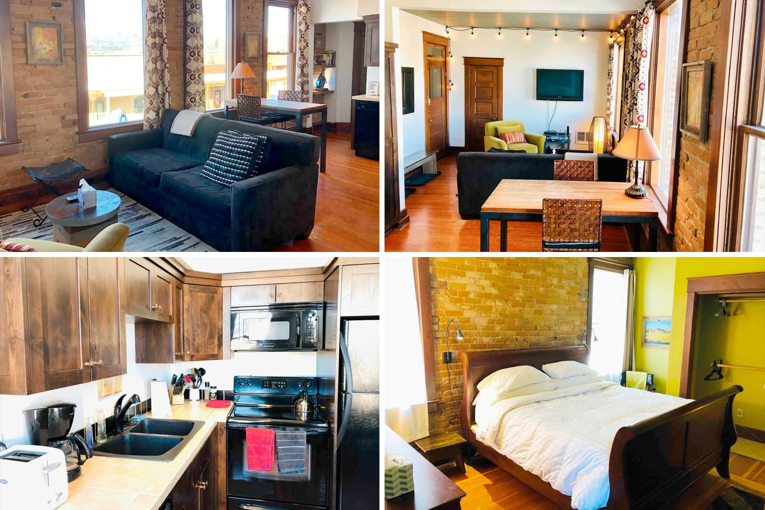 Classic Whitefish Downtown Condo Airbnb