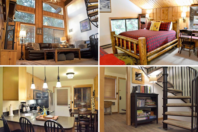 Cozy Three-Level Condo Airbnb in Whitefish, Montana
