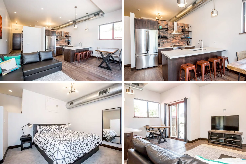 Modern Whitefish Downtown Loft Airbnb