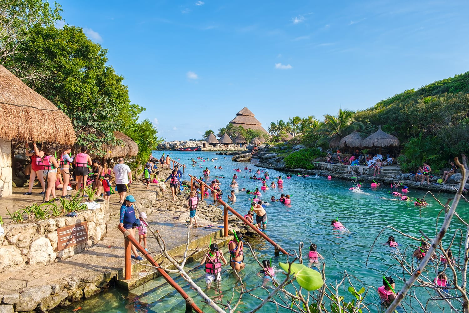 Xcaret Park in Mexico
