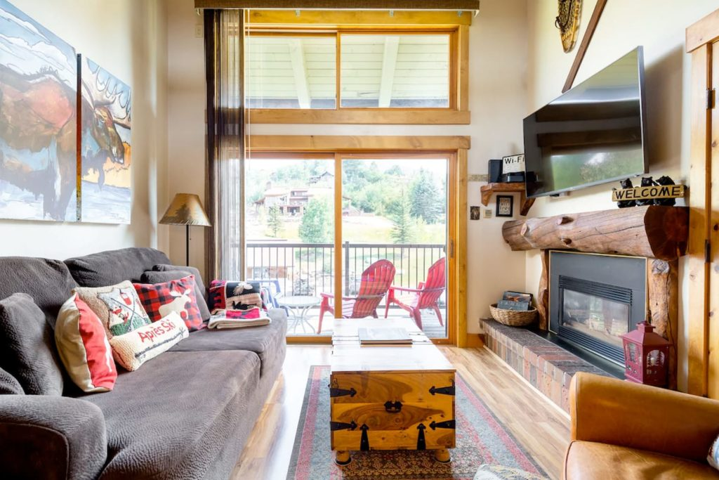 Beautiful Airbnb in Steamboat Springs, Colorado, USA