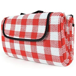 Camco Classic Checkered Picnic Blanket