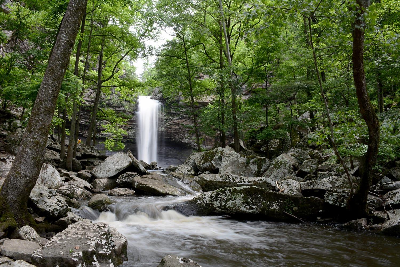 Cedar Falls at Petit Jean State Park, Arkansas, USA