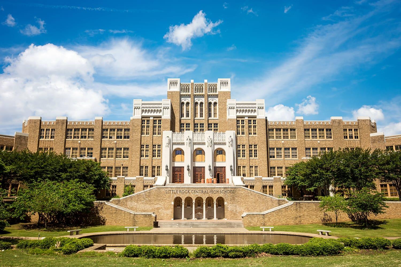 Little Rock Central High School in Little Rock, Arkansas, USA