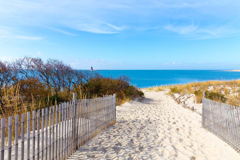 Beach at Cape Henlopen in Delaware, USA
