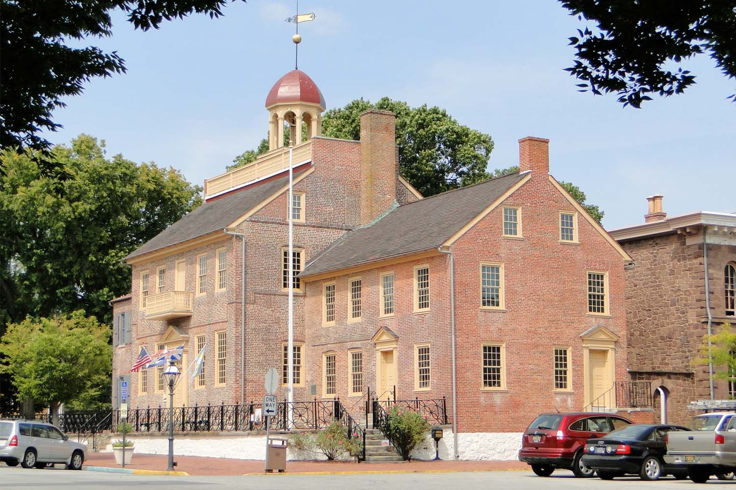 Court House in New Castle, Delaware, USA