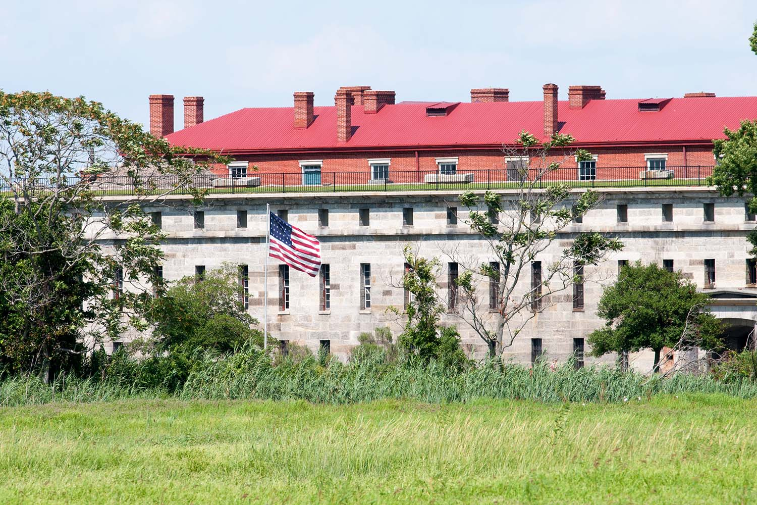 Fort Delaware State Park, Historic Union Civil War Fortress that housed Confederate Prisoners