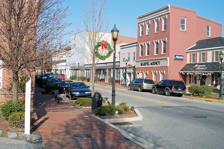 Milford in Delaware, USA