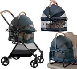 Pet Gear 3-in-1 Travel Stroller System