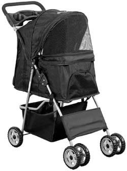 VIVO Four-Wheel Pet Stroller