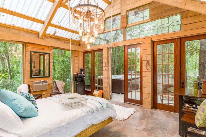 Beautiful Airbnb Cabin in Texas, USA