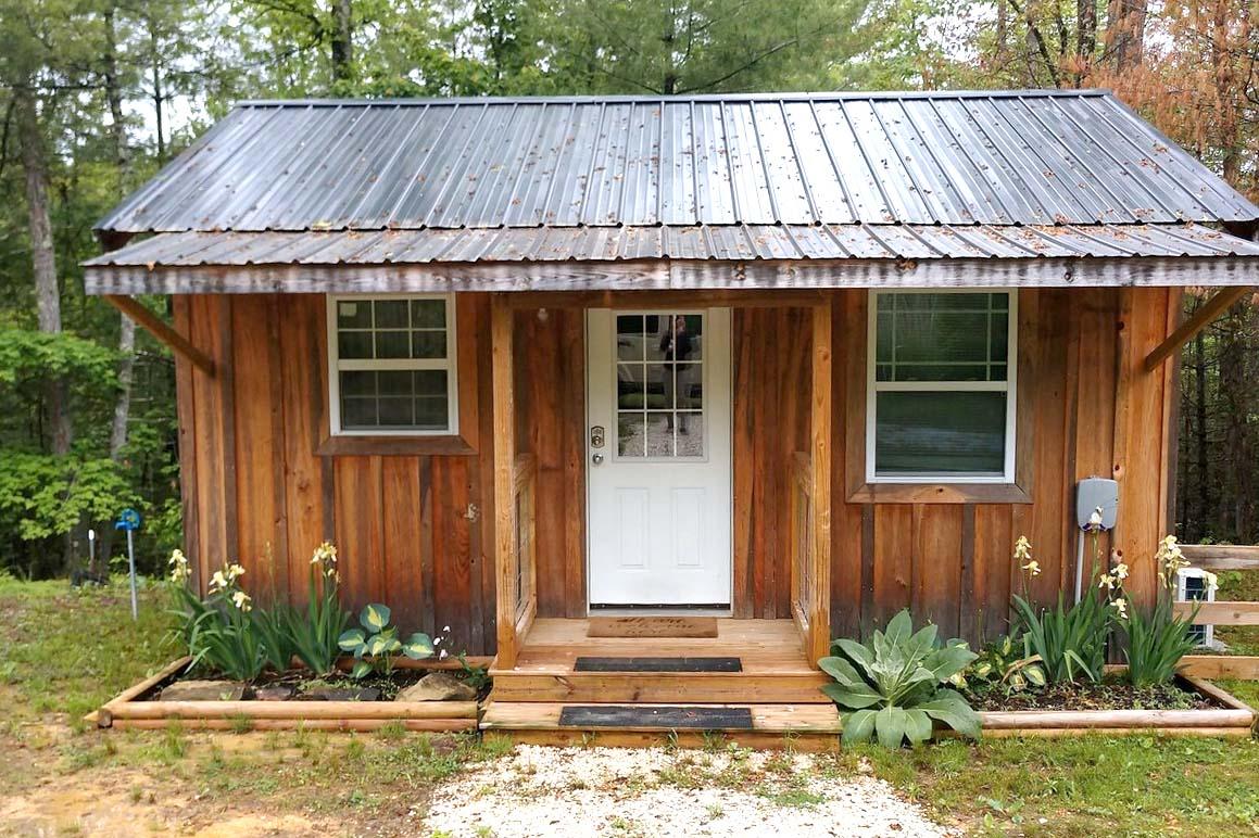 Moonlit Cabin in Kentucky, USA