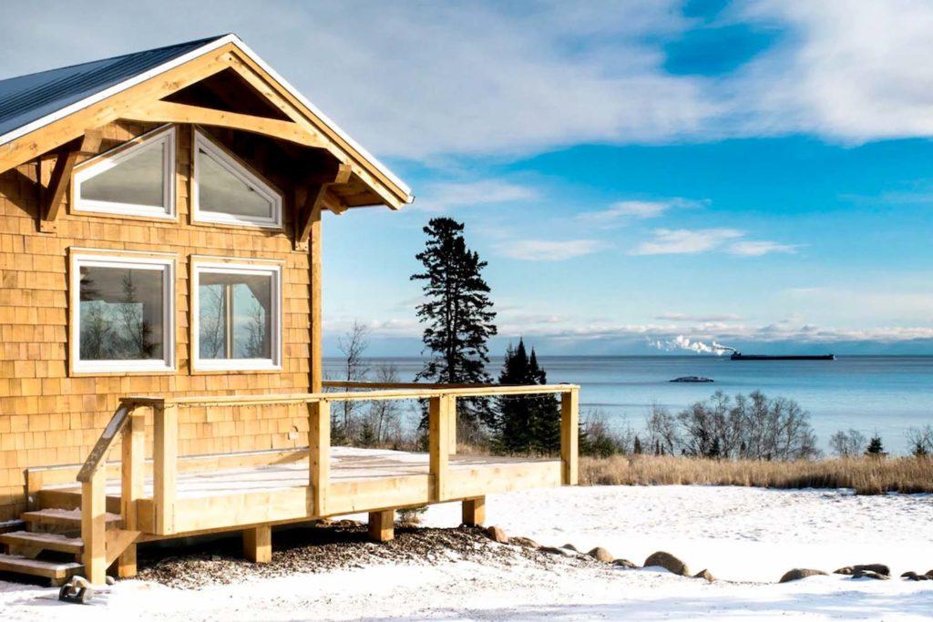 Airbnb Cabin in Minnesota, USA