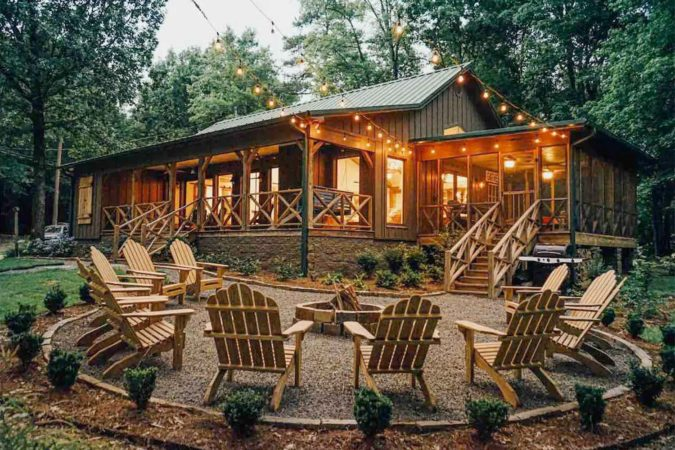 Luxury Cabin Airbnb in Mississippi, USA