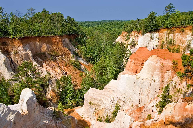 Providence Canyon in Georgia, USA